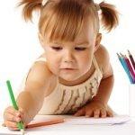 развитие малыша рисуем карандашом