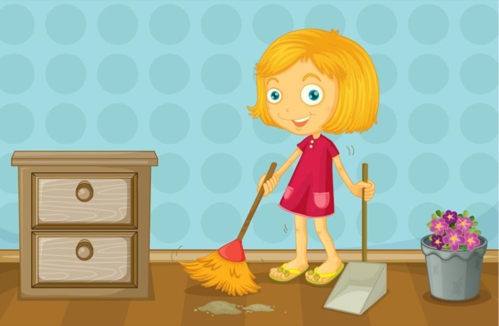 <b>А ваш ребенок убирается в своей комнате?</b>