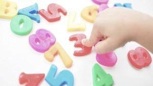 дети воспитание - учим цифры - test