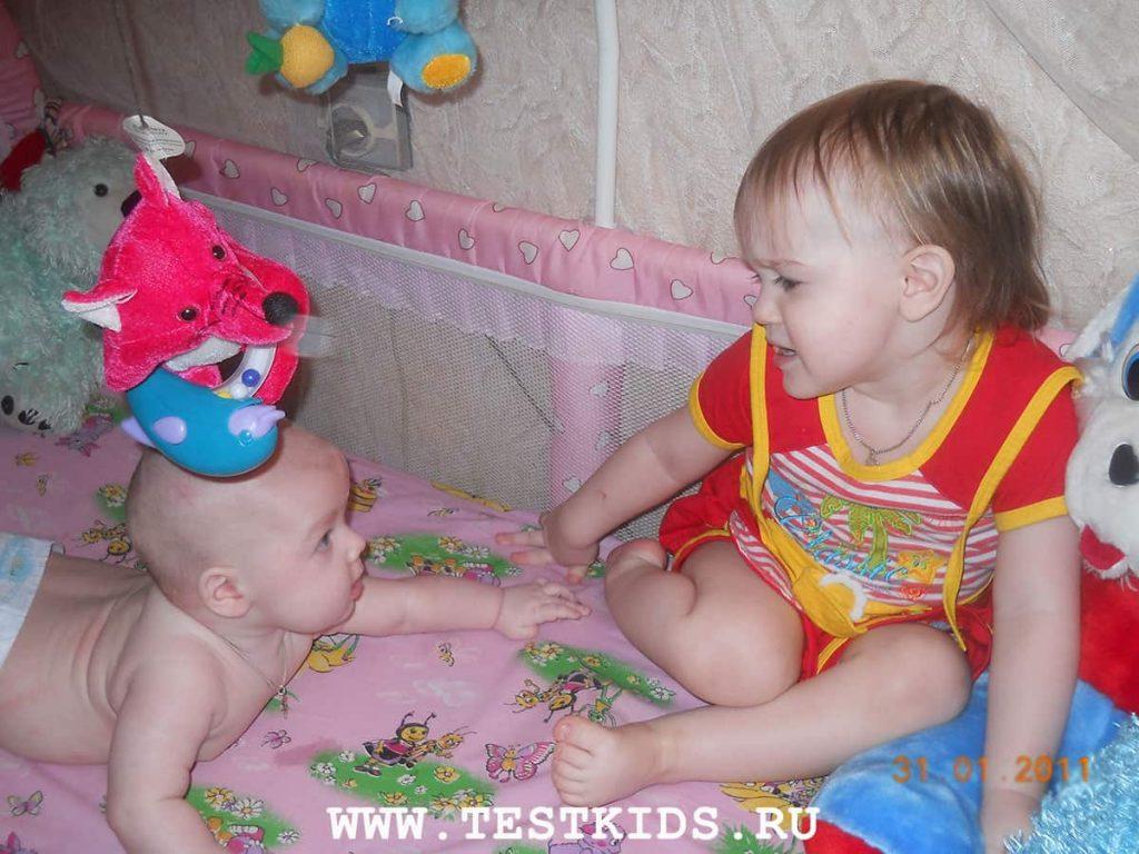 развитие ребенка до 1-го года