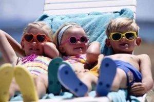 Солнечные ванны для грудничков