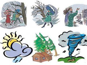 как погодные приметы