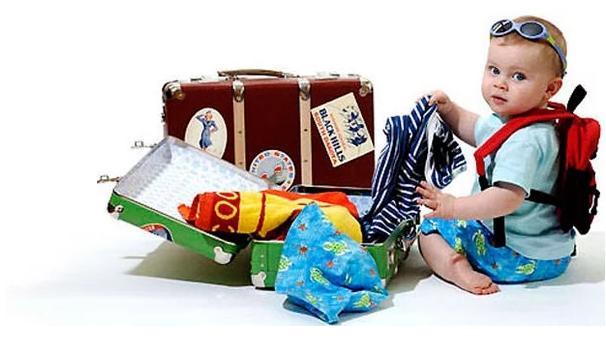 ребенок и путешествие