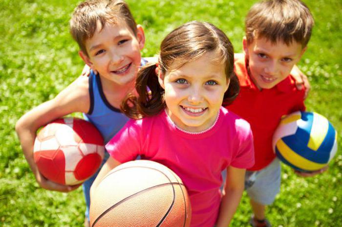 физическое воспитание школьника