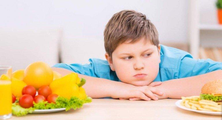 Борьба с лишним весом у детей