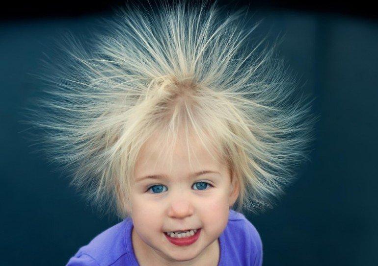 Что делать если волосы электризуются