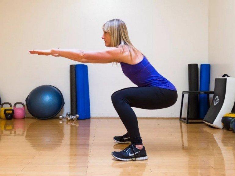 Базовые тренировки для сгонки веса