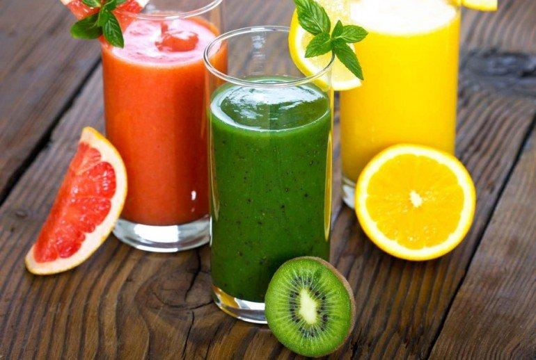 Вкусные коктейли для похудения из фруктов, овощей и молочных продуктов