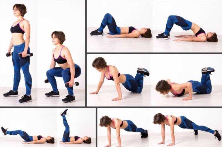 Какие упражнения помогают максимально сжечь жир в проблемных местах