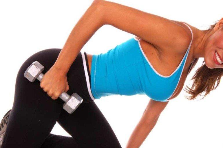 """Как укрепить мышцы девушкам, чтобы не """"перекачаться"""""""