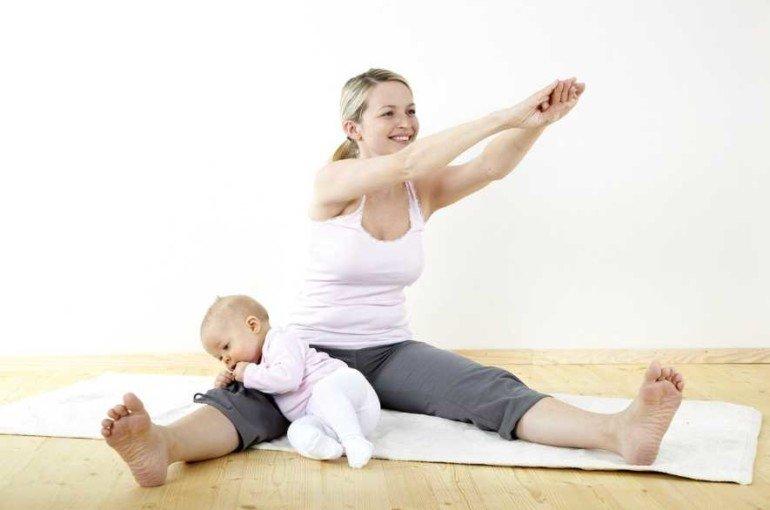 Как убрать послеродовой живот без изнуряющих упражнений?
