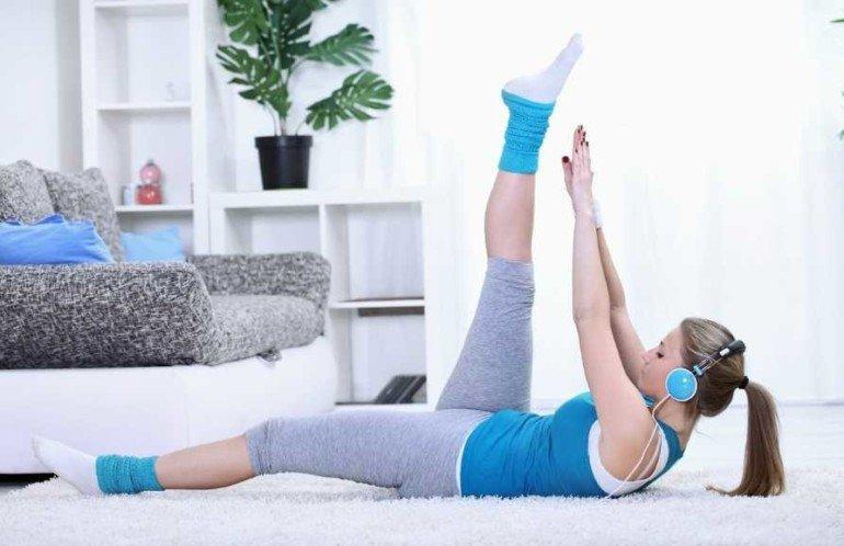 Как заниматься фитнесом дома не хуже чем в тренажерном зале