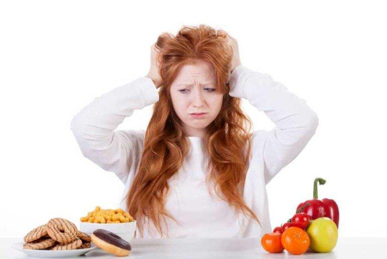 Как избежать апатии и стресса в первые недели диеты