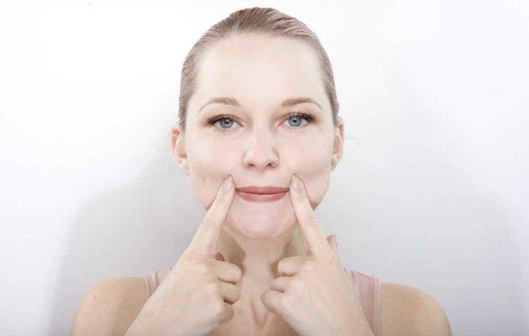 Как похудеть в лице и сделать скулы более очерченными