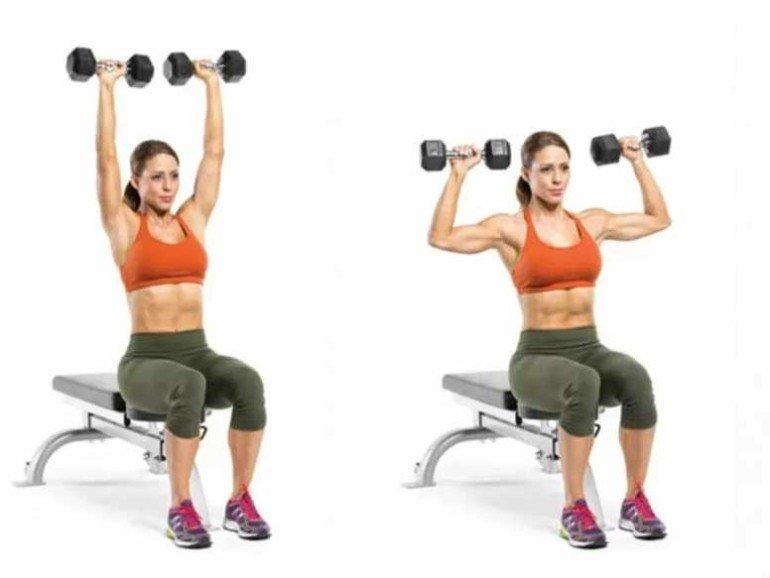 5 эффективных упражнений для тонких рук и точеных плеч