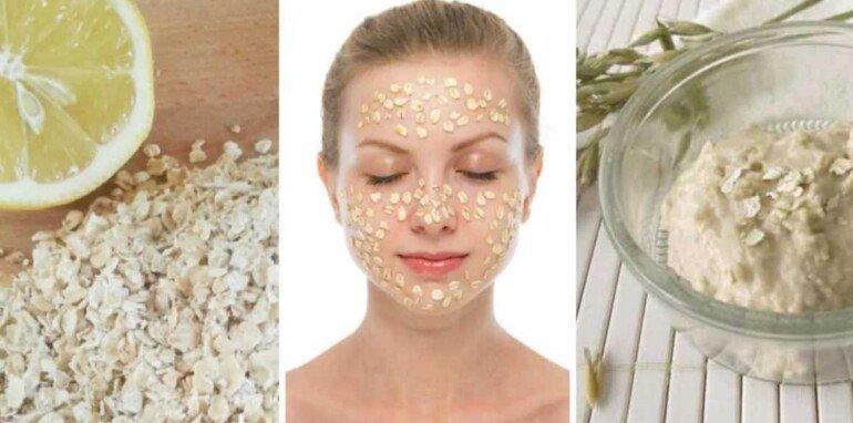 Простая маска из овсянки и молока: тонизируем сухую кожу за 5 минут