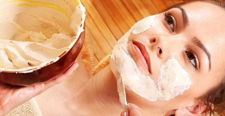 Творожная маска для быстрого смягчения сухой кожи лица и тела