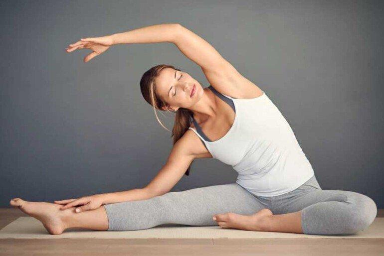 5 асан йоги для поддержания тонуса кожи во время похудения