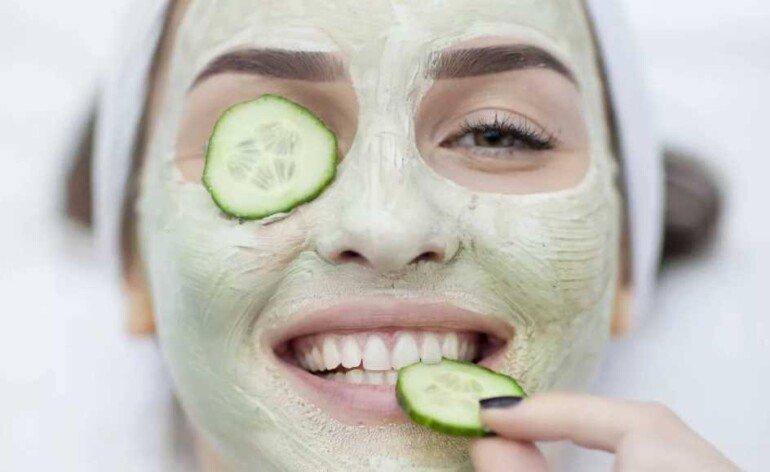 Огуречно-лимонная маска против веснушек и пигментации на лице