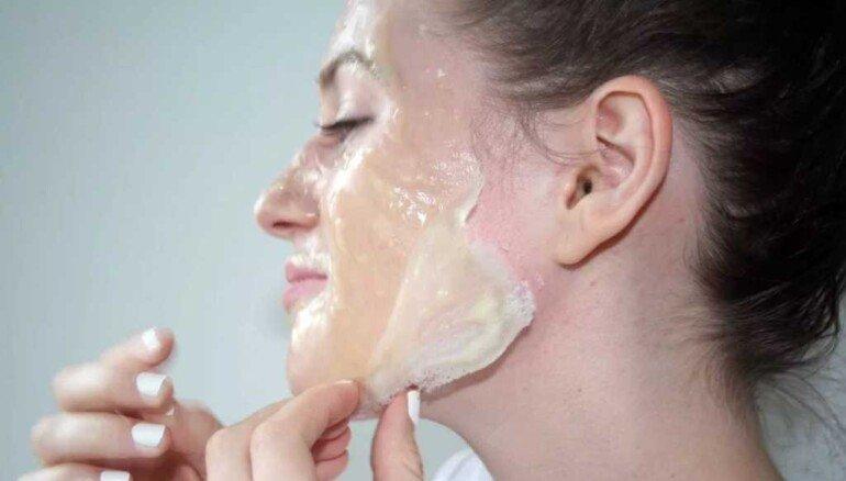 Желатиновая маска-лифтинг своими руками