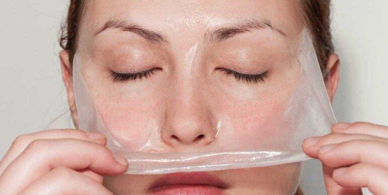 Омолаживающая желатиновая маска для преображения лица