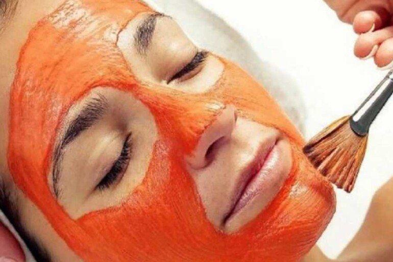 Помидорная маска против жирного блеска на лице