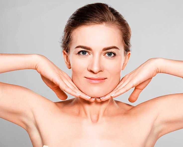 Как сохранить овал лица подтянутым после похудения