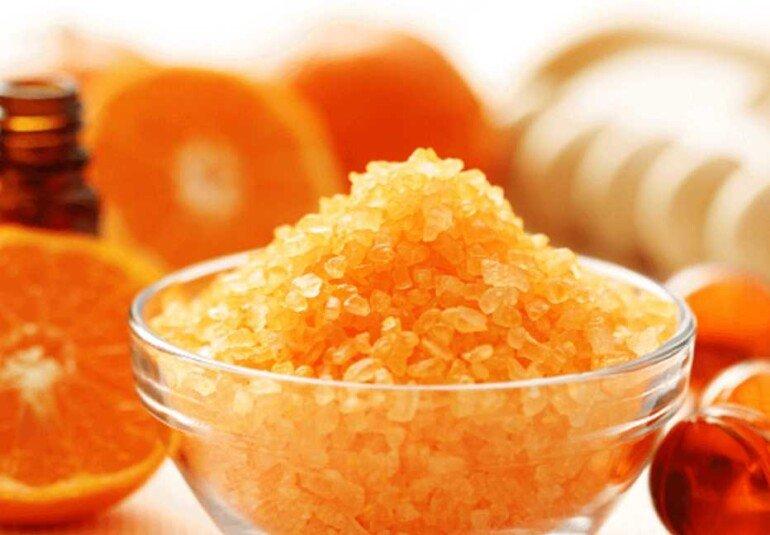 Апельсиновый скраб от целлюлита в домашних условиях