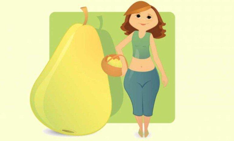 Программа похудения для женщин с фигурой «груша»