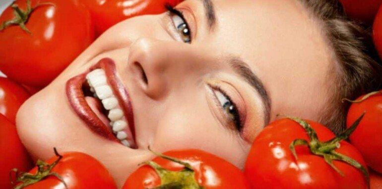 Польза маски из свежего помидора для кожи лица