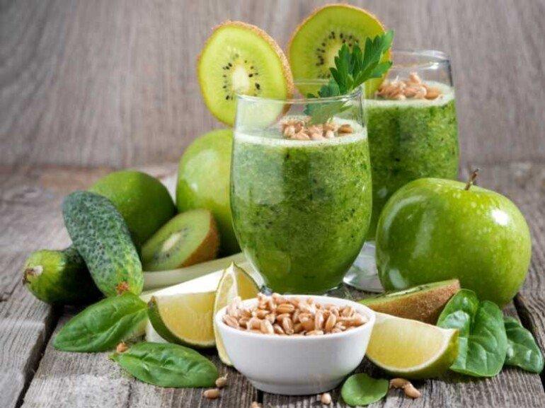 Лучшие зеленые смузи, которые помогут похудеть