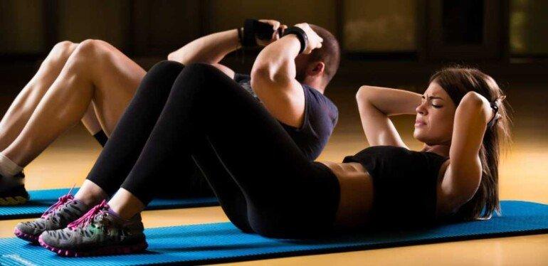 5 шикарных упражнений для красивого пресса