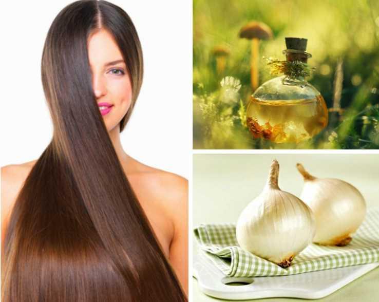 Медово-луковое средство для естественного блеска волос