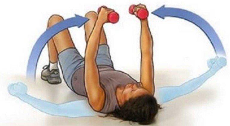 Накачиваем грудь в домашних условиях с помощью простых упражнений