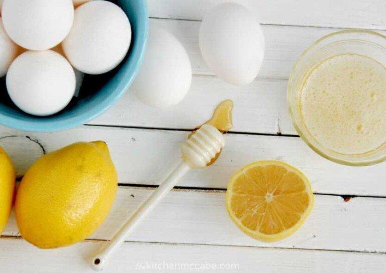 Яично-лимонная маска для лица против расширенных пор и морщин