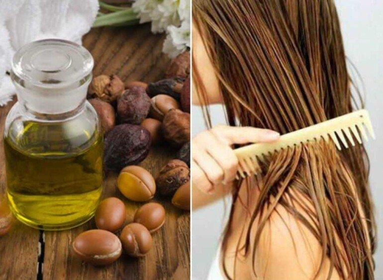 Устраняем зуд и сухость кожи головы с помощью арганового масла