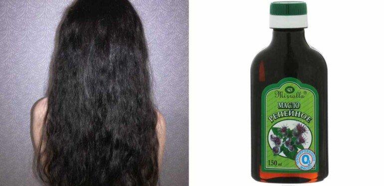 Плюсы и минусы использования репейного масла для укрепления волос