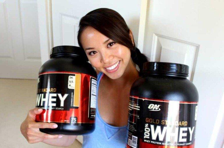 Как принимать протеин, чтобы похудеть и не навредить мышцам