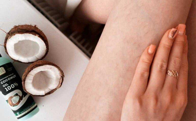 Как с помощью кокосового масла избавиться от растяжек