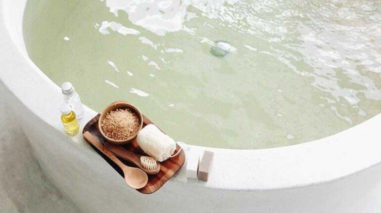 Солевые ванны против целлюлита, отёков и лишнего веса