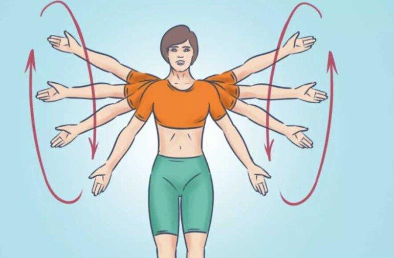 Топ 6 лучших упражнений для рук, которые сделают их подтянутыми и сильными